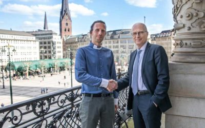 Big Blockchance Conference news update: The Mayor of Hamburg joins us and the Chamber of Commerce is our venue.