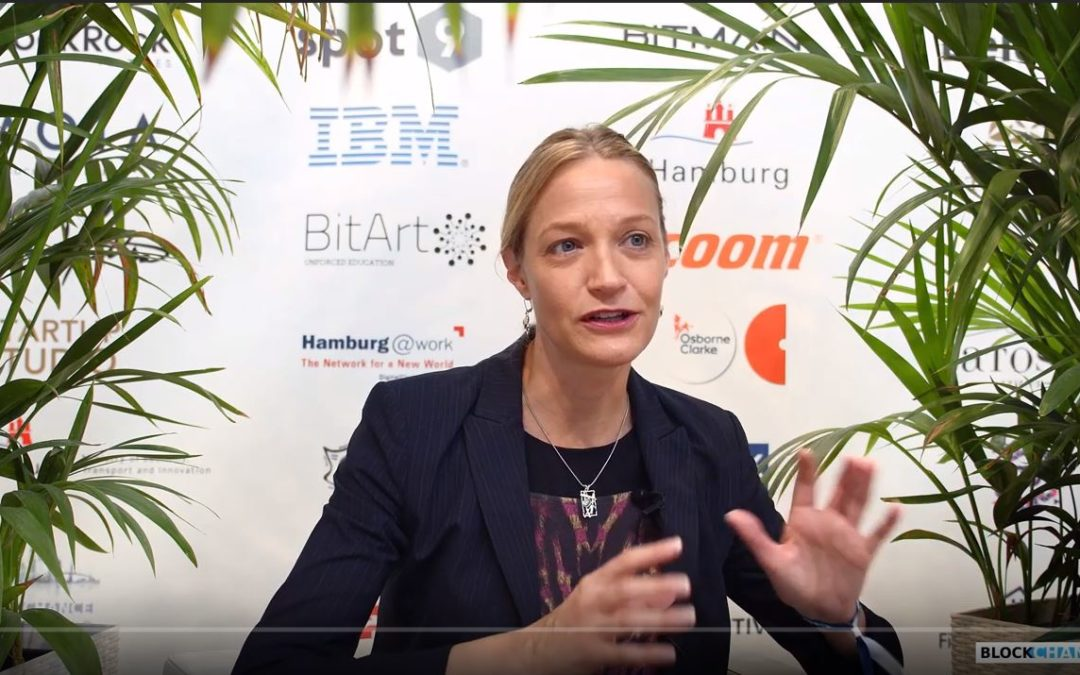 Julie Maupin, Director of Social Impact at IOTA and Chair of the Board at INATBA – Interviewed at BLOCKCHANCE 2019