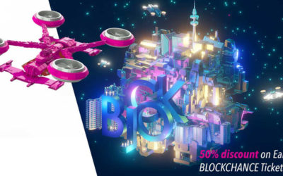 50% Discount on BLOCKCHANCE EUROPE 2021 Tickets until June 30, 2020