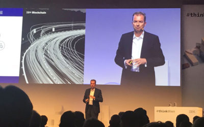 Christian Schultze-Wolters Representing IBM And Blockchain Technology