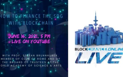BCO LIVE#17 – How to Finance the SDG with Blockchain Solutions w/ Prof Brunnhuber of Club of Rome, Live on June 16, 2021