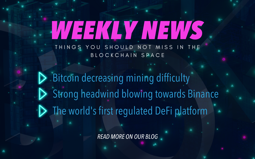 Blockchance Weekly Wrap-up: What happened in the blockchain space in the last week of June?