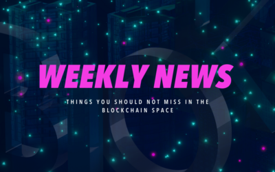 Blockchance Weekly Wrap-up: What happened in the blockchain space in the last week of August?